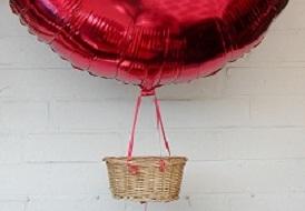 bfgk 001 ballonfahrer korb geflochten eckig confetti ballons. Black Bedroom Furniture Sets. Home Design Ideas